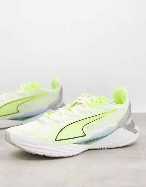 Zapatillas de deporte blancas Ultraride de Puma