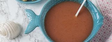 Receta de gazpacho andaluz con Thermomix