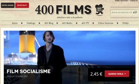 400Films, nuevo servicio español de vídeo bajo demanda. Cine independiente y de autor