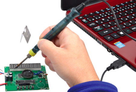Por si pensabas que habías visto todo lo conectable vía USB: Soldador USB de 8W