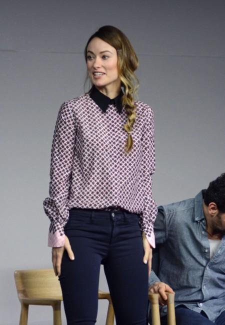 Olivia Wilde Camisa Y Pantalones