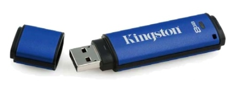 Memorias USB Kingston con encriptación de datos