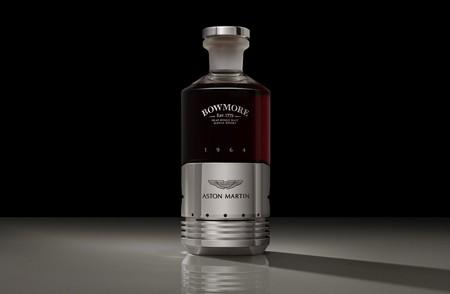 Aston Martin lanza un whisky inspirado en la leyenda DB5, que supera el millón de pesos