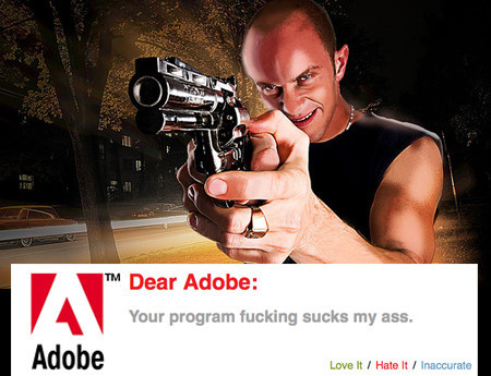 ¿Hay algo que no te guste del software de Adobe? Pues quéjate