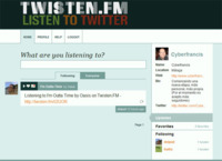 Twisten.fm, comparte la música que escuchas en Twitter