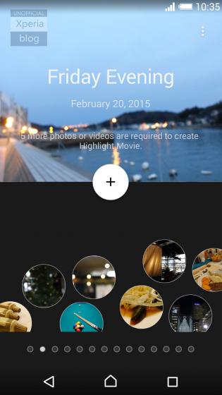 Foto de Botones de acción Xperia con 5.0 Lollipop (2/3)