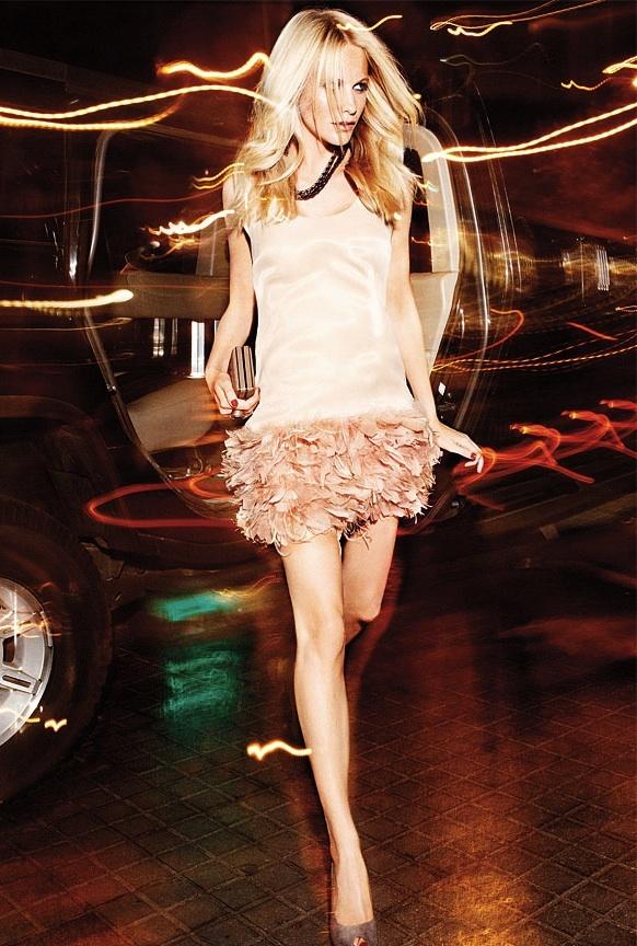 Todas las imágenes del nuevo catálogo de Mango Otoño-Invierno 2010/2011 con Poppy Delevigne