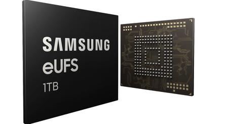 Llegan los móviles con 1 TB de almacenamiento: Samsung ya tiene lista su memoria eUFS, a tiempo para el Galaxy S10+