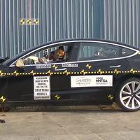 El Tesla Model 3 es el auto con menos probabilidad de lesiones en caso de accidente, según la NHTSA