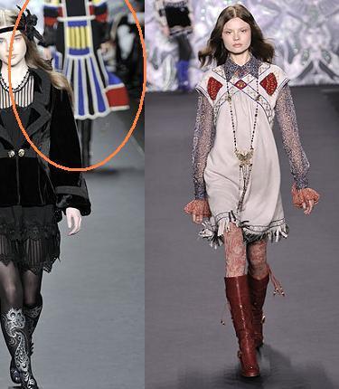 Anna Sui en la Semana de la Moda de Nueva York otoño-invierno 2008/09