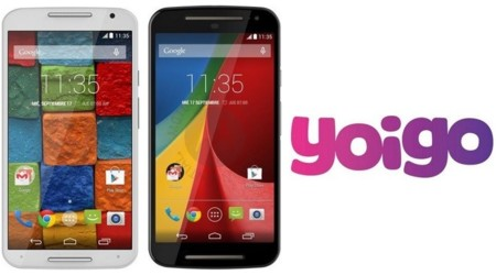 Precios Motorola Moto X y Moto G de nueva generación con Yoigo