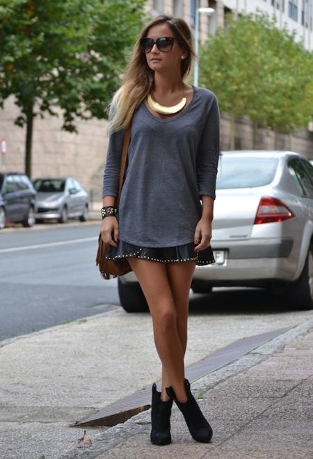 Lo que una sola falda puede hacer: infinidad de looks