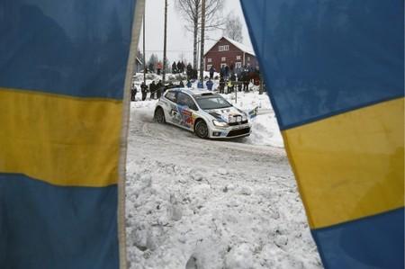 Rally de Suecia 2014: Sébastien Ogier es el primero en fallar