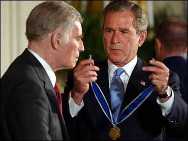 Bush medalla