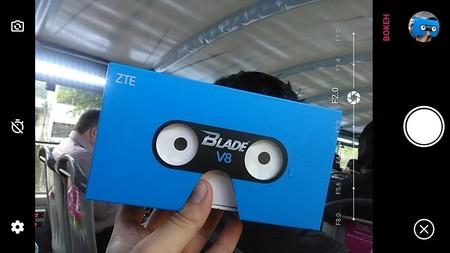 Zte Blade V8 Interfaz Camara