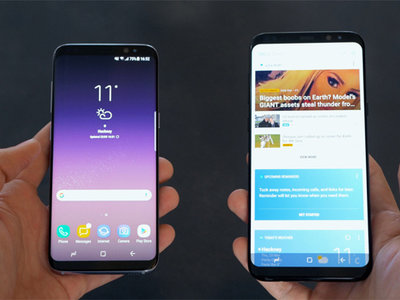Samsung lanza una actualización al Galaxy S8 y S8+ para solucionar el 'tinte rojo' de la pantalla