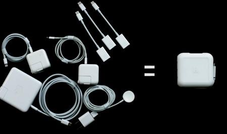 Este es el cargador del nuevo Macbook que Apple debería haber hecho desde el principio