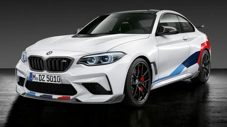 El BMW M2 Competition ya es cosa buena y sus nuevas piezas M Performance no hacen más que mejorarlo
