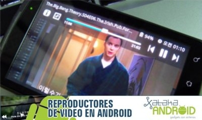 Reproductores de vídeo Android: iMPlayer+