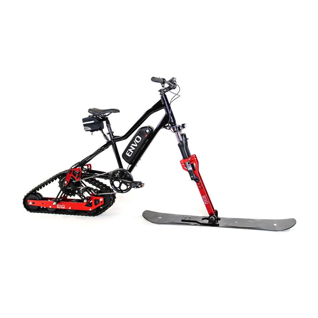 El kit Envo convierte bicicletas normales en bicicletas eléctricas para la nieve