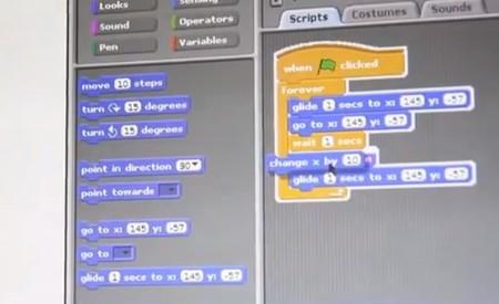 Programando nuestro robot gracias a Scratch, el lenguaje visual de la Raspberry Pi