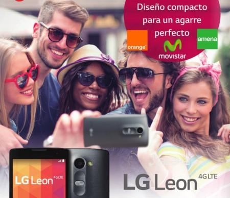 LG Leon llega a Movistar, Orange y Amena. Comparamos sus precios con Vodafone
