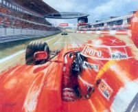 Schumacher en Shanghai