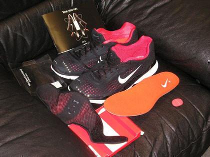 Primeras fotos del sistema Nike+iPod