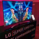 LG presenta su nueva gama de televisores OLED 4K y Super UHD 4K para el mercado español