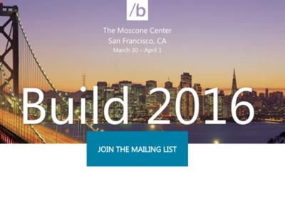 Queda ya muy poco y desde aquí te vamos a contar qué esperar y cómo ver la Build 2016