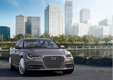 Audi fabricará el Audi A6 L e-tron en China