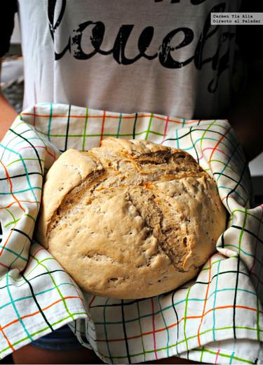Cómo hacer pan fácil con masa madre. Receta con Thermomix