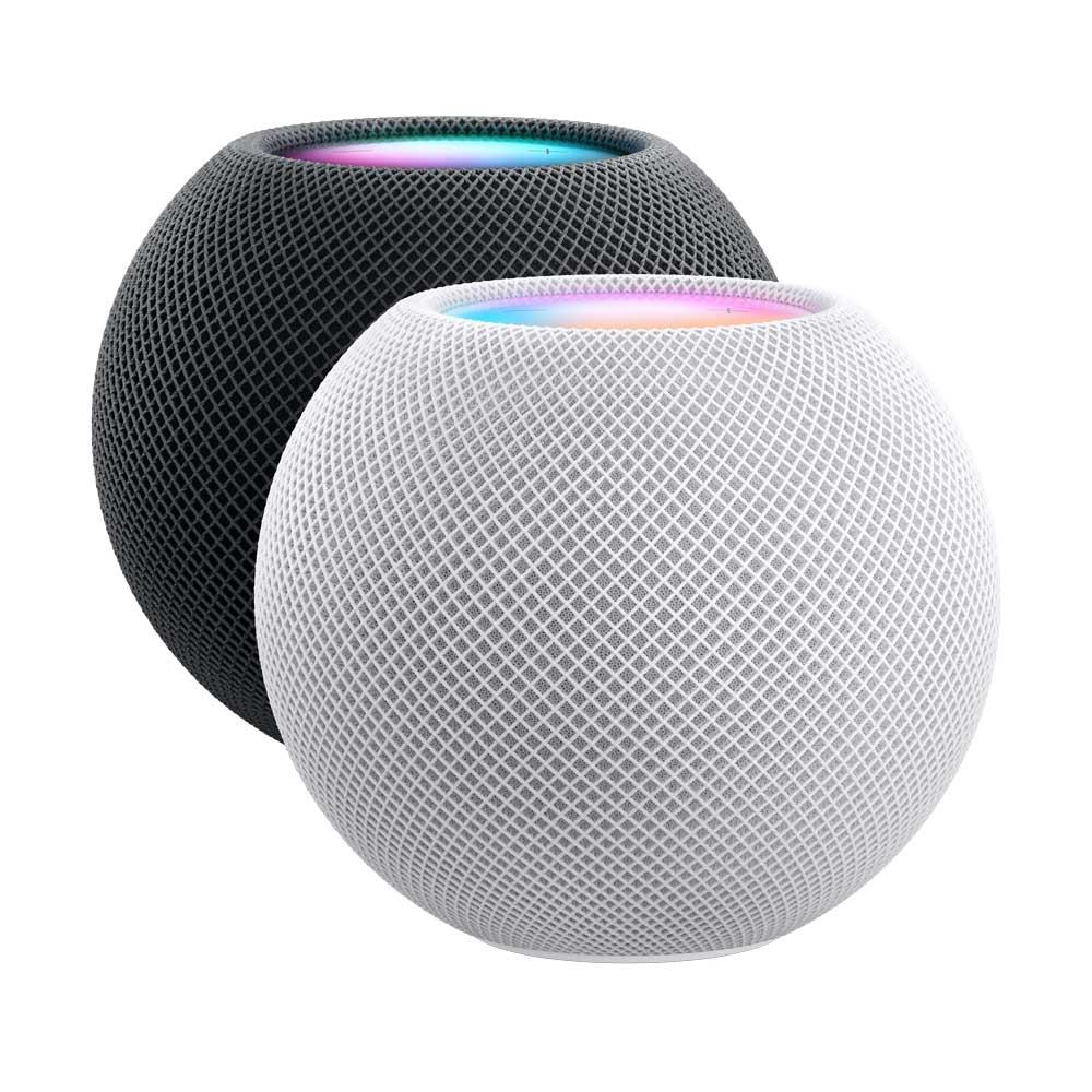 Altavoz inteligente - Apple HomePod mini, Siri, Altavoz 360º, Bluetooth, Wi-Fi, Blanco, Domótica