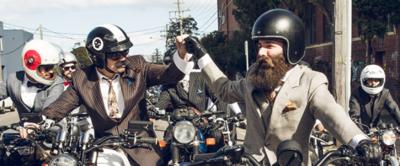 ¿Te gusta viajar en moto? Ponte un traje y no te pierdas Distinguished Gentleman's Ride