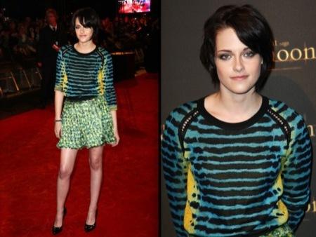 Kristen Stewart, el estilo de una vampiresa de Crepúsculo: ¿estilo de calle o sobre la alfombra roja?, Proenza