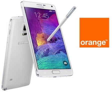 Precios Samsung Galaxy Note 4 con Orange y comparativa con Yoigo y Amena