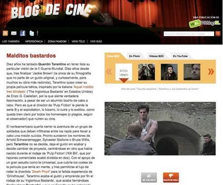 Blog de Cine 2.0, el mundo del cine más tuyo que nunca