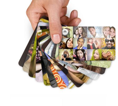 Memolio, impresión de álbumes en tarjetas
