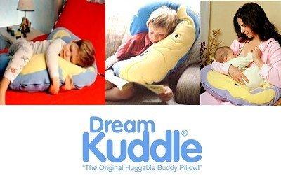 DreamKuddle, la almohada que te abraza