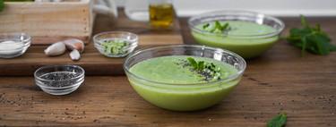 Vídeo receta de gazpacho de aguacate y pepino, el entrante más fácil y rápido del verano