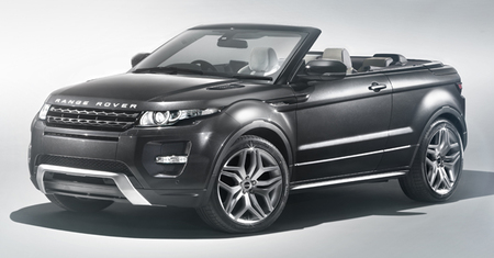 Range Rover Evoque Convertible Concept, el evoque descapotable