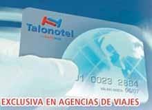 Nueva tarjeta Talonotel: no más talonarios