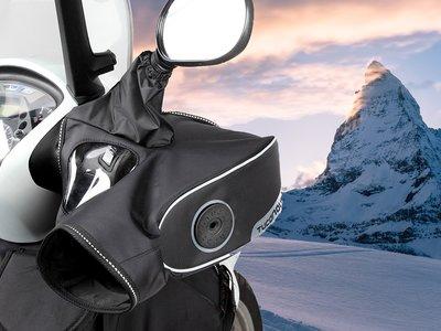 Trail, enduro, scooter... Ningún estilo se escapa de las manoplas térmicas de Tucano Urbano