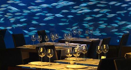 Restaurante Submarino Oceanografic Valencia