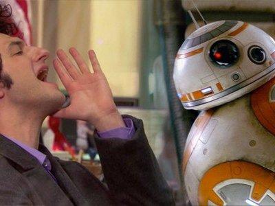 La Imagen de la semana: BB-8 comunicándose con frases de Jean-Ralphio en 'Parks & Recreation'