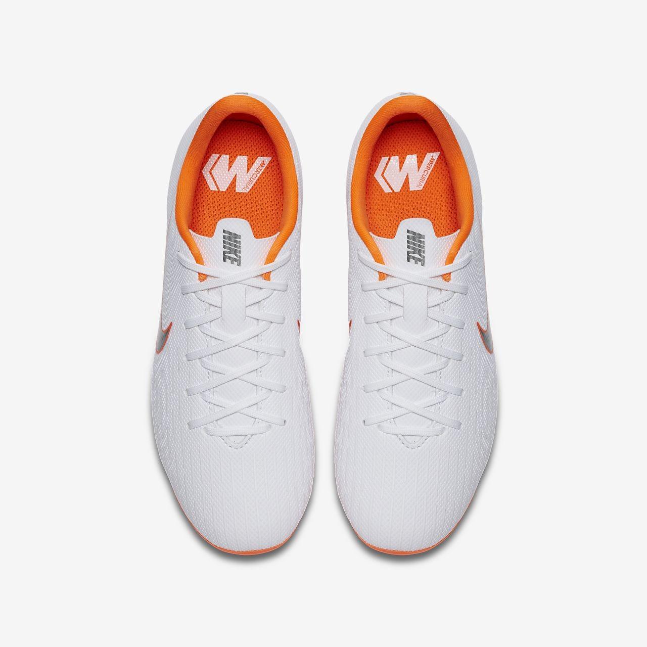 Botas de fútbol junior Nike Mercurial Vapor XII por sólo 22 euros con este  cupón de descuento 6b964a450fd59
