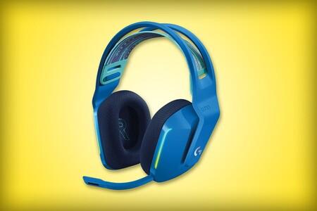 Estos audífonos inalámbricos Logitech tienes más de 1,400 pesos de descuento en Amazon México: hasta 29 horas de batería y luz RGB