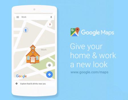 Google Maps ahora permite personalizar con íconos las ubicaciones de tu casa y tu trabajo