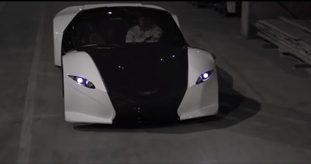 Tomahawk, el auto de Dubuc Motors que acelera de 0 a 100 km/h en 2.0 segundos