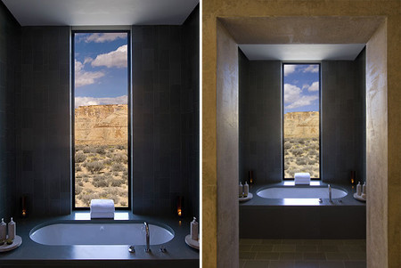 Bañeras con vistas